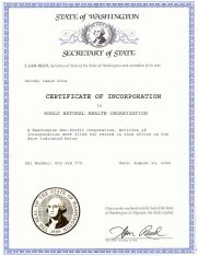 OUR LEGAL DOCUMENTS - Corporation legal documents